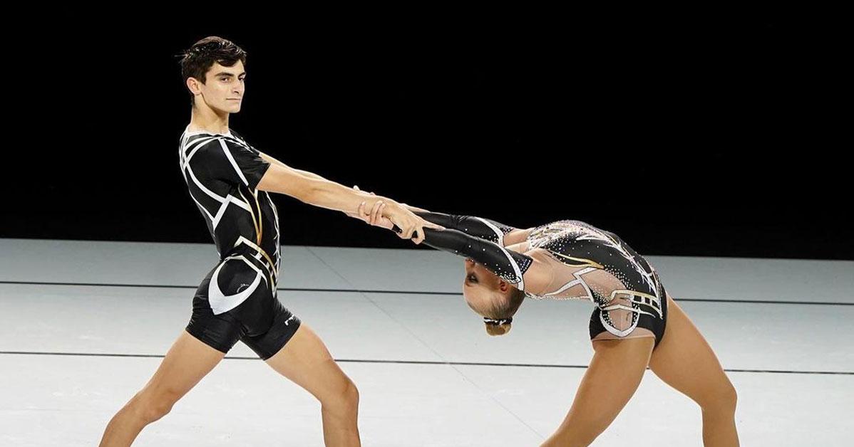 Andrea Colnago oro nella ginnastica orobica
